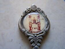 Vintage Geelong T&G Building Ringing Bell Collector Spoon