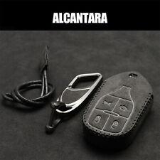 Alcantara Car Key Fob Case Cover For Maserati Quattroporte Ghibli Levante GTS