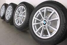 Original BMW 3er F30 F31 4er 16 Zoll Alufelgen 390 V-Speiche Winterräder RDCi 1