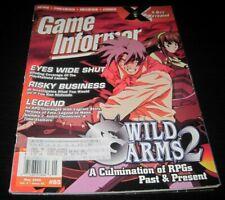 Vintage Game Informer Magazine Nintendo PS Nes Sega video games 2000 issue 85