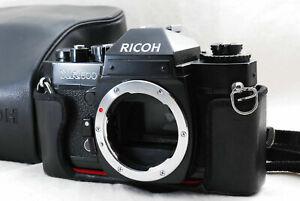 Ricoh XR500 Auto 35mm SLR Film Camera Body w/Case snd Strap from Japan