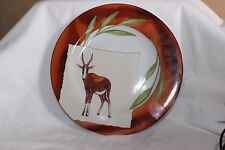 Side Plate Pier Import Blesbok Antelope South Africa