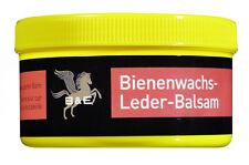 B & E Bienenwachs-Leder-Balsam - Lederpflege Glattleder Wachs - 250 ml Dose