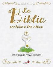 Biblia contada a los niños. Recuerdo Primera Comunión. ENVÍO URGENTE (ESPAÑA)