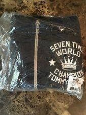 Roots of Fight Bloodlines Thomas Hitman Hearns Hoodie Men's Size XL New W/Tags!!