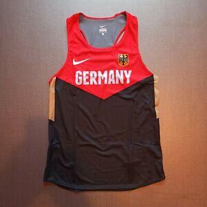 Nike pro elite Team Germany singlet track and field men running Olympics DLV