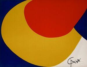Convection (Braniff Flying Colors),1974 Ltd Ed Lithograph, Alexander Calder