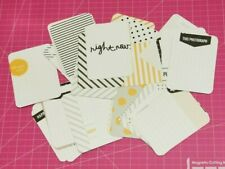 Project Life Lot of (50) 3 x 4 Midnight Edition kit cards Becky Higgins