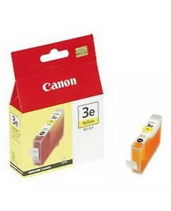 Canon 3E Yellow Ink Tank 280 pages Yellow Genuine