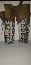 """17"""" Sioux Women's Beaded Leggings"""