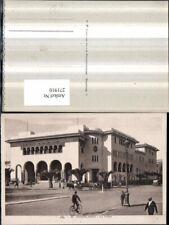 271910,Marokko Casablanca La Poste Postamt Straßenansicht Kutschen