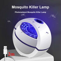USB Powered Mosquito Killer Lamp Electric No Noise 360° Insect EW YK