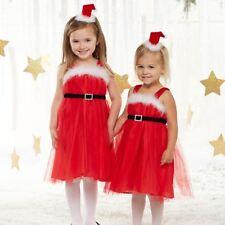 NWT Mud Pie Santa Tutu Dress & Headband Girls Christmas Set 12 M - 2T 3T - 4T