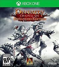NEW Sealed Divinity: Original Sin -- Enhanced Edition (Microsoft Xbox One, 2015)