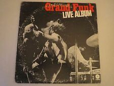 Grand funk live album LP vinyl album