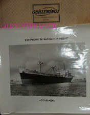 GRANDE PHOTO CNP Cie NAVIGATION PAQUET - COUESNON cargo1948-1963