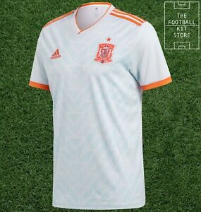 Spain Away Shirt - Official adidas Spain Football Jersey - Mens - All Sizes