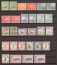 ADEN 1953-63 SG 48/72 & shades incl 72a  MNH Cat £315