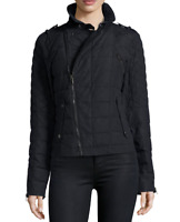 Sorel Women's Conquest Carly Moto Jacket size Small Black