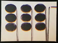 Hanna Hennenkemper, ohne Titel, Farblithographie, 2009, handsigniert und datiert