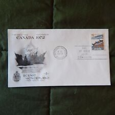 Estate Find Fdc Canada 15, Scenic Wonderland - Bighorn Sheep, 8 Ix 1972