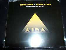 Elton John Leann Rimes Written In The Stars Rare Australian 4 Track CD Single