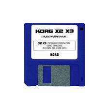 KORG X-SERIES FACTORY SOUND CARD DISK X2 X3 X3R X 2 3 R