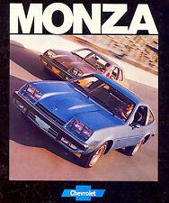 1977 CHEVY MONZA BROCHURE -MONZA 2+2 SPYDER-MONZA TOWN COUPE-CHEVROLET MONZA