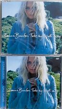 EMMA BUNTON * TAKE MY BREATH AWAY * UK CD/DVD SET * HTF! * SPICE GIRLS