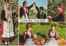 Cartolina Rarissima  COSTUMI CALABRESI, REGGIO CALABRIA