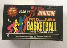 2000-01 Topps Heritage Basketball Sealed Hobby Box