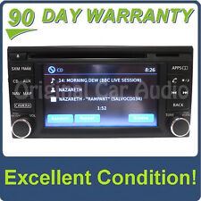2013 2014 NISSAN OEM Navigation GPS Radio Touch Screen Bluetooth MP3 CD Player