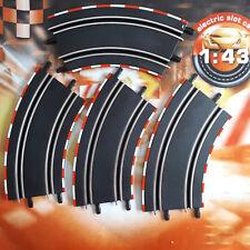 Carrera GO 4x Kurve 2/45 Auto Rennbahn Schienen Set Bahn Ausbauset 61617