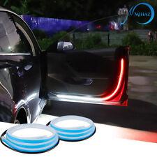 2pcs Car Door Open Warning Lamp Flashing LED Lights Strip Anti-collision Safety