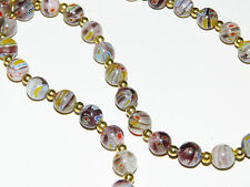 Collier vintage perles Murano / vintage Murano glass necklace