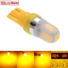2Pcs T10 158 194 168 W5W 2835 9 smd led Car Light Bulb Lamp super Amber Yellow