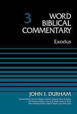 Exodus, Volume 3 by John I. Durham (Hardback, 2015) #2936