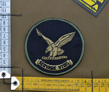 "Ricamata / Embroidered Patch FBI ""Servare Vitas"" Subdued with VELCRO® brand hook"