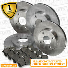 Vauxhall Vectra B 2.6 Drivetec Front Brake Pads 308mm For Vented Brake Discs