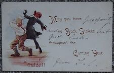 190? Golf Great Scot Comic Cynicus Scotland Vintage Postcard Golfer Golfing