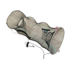 2er 60CM Fischkrabbe KÖDERFISCH REUSE∅30CM KÖDERFISCHREUSE Fishing Trap