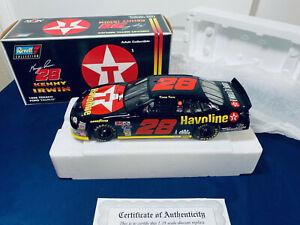 1998 Kenny Irwin #28 Texaco/Havoline Ford Taurus 1:18 NASCAR Revell Die-Cast NIB