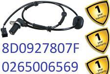 AUDI A4 B5 S4 2.7 2.8 Quattro 1997-00 TRASERO R/L ABS Sensor 8D0927807F 417510060