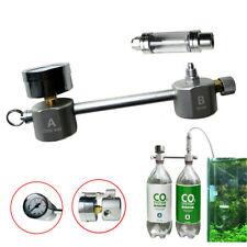 CO2 Generator for Plants Aquarium DIY CO2 Kit Pressurized w/ Bubble Counter