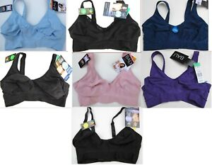 New 1 Bali Comfort Revolution Flexible Fit Wirefree 3484/3381 Sz XS-XXL Knit Bra