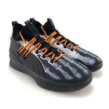 Puma Men's Clyde Court Hardwood Disrupt Halloween Black Basketball Shoes Sz 10