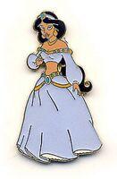 Jasmine Sparkle glitter from Aladdin authentic Disney Princess pin/pins