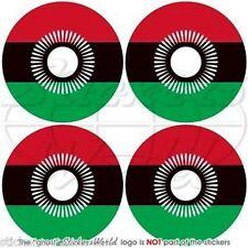 """MALAWI Malawian Vinyl Bumper-Helmet Stickers-Decals 2""""(50mm) x4"""