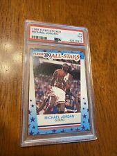 1989-90 Fleer Stickers All-Star Michael Jordan PSA 7 Graded Basketball Card