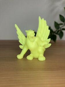 Winged Panther Neon Yellow #40 90's Matchbox Monsters In My Pocket Series 1